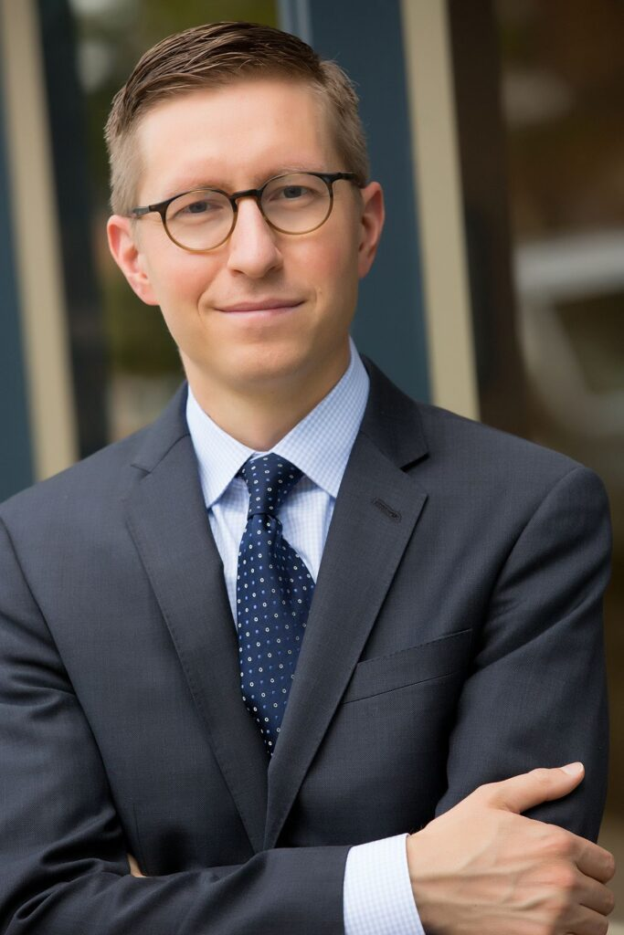 Denver headshot of investment consultant
