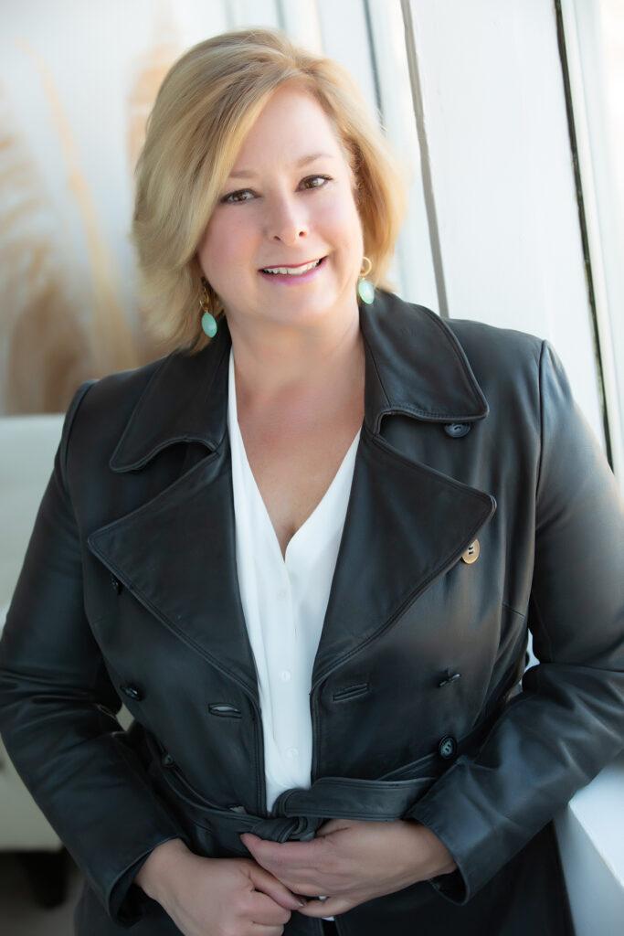 Denver headshot of author
