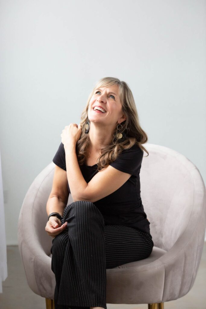 Personal Branding Denver woman laughing