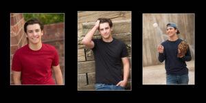 Littleton senior picture collage